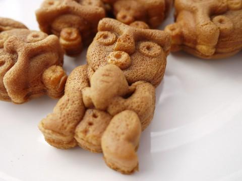 国宝合掌土偶人形焼